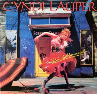 Cindi Lauper- Girls Just Wanna Have Fun