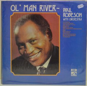 Paul Robeson, Ol' Man River, LP Record at www.my-trak.com